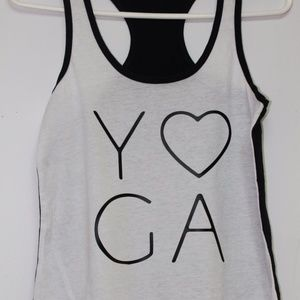 Love Yoga tank top